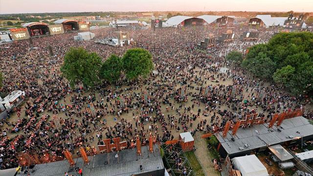 Image d'Illustration : Transmission HD au Hellfest pour TVR & Télénantes